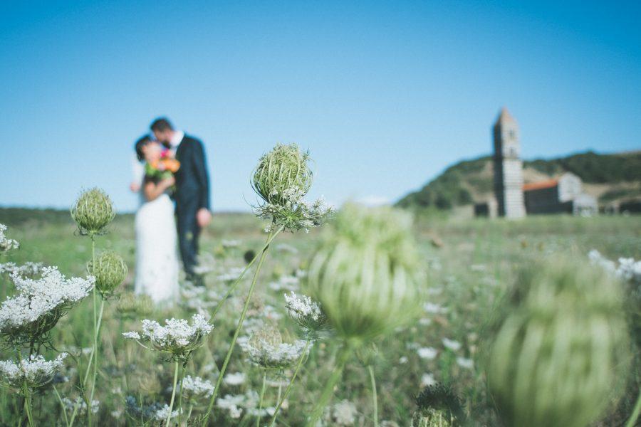Un'immagine tratta dal servizio fotografico matrimoniale di Carlo e Francesca - Sassari Sardegna