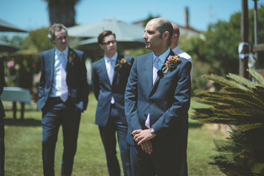 Fotografia Matrimonio Alghero attesa