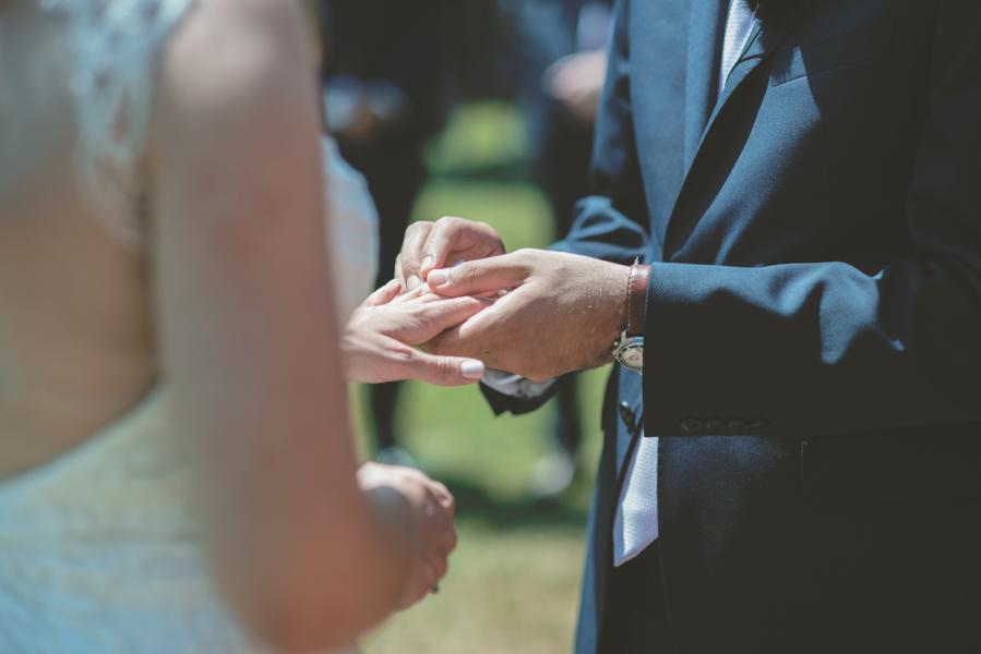 Fotografia Matrimonio Alghero scambio anelli