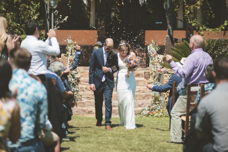 Fotografia Matrimonio Alghero uscita sposi