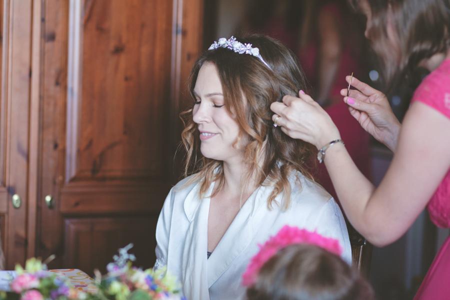 Fotografia matrimonio Alghero preparazione sposa
