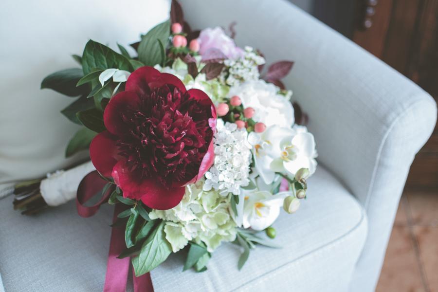 fotografia matrimonio sassari marcella e roberto bouquet
