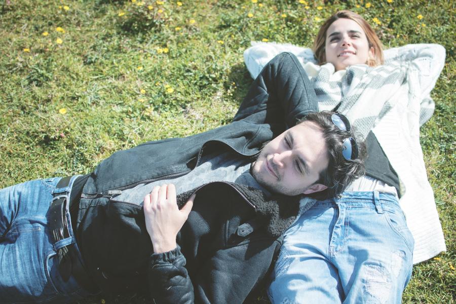 Fotografia prematrimoniale Valentina e Fabio ritratto
